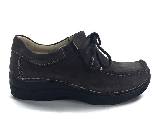 Wolky Comfortable Leather Upper Leather Lining Casual brown Athletic