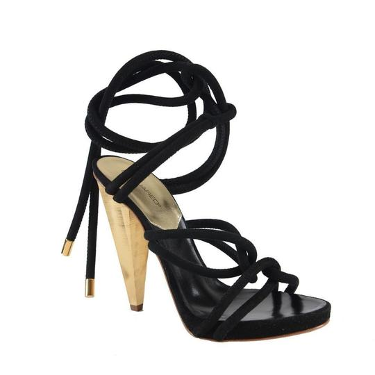 DSquared Black Sandals