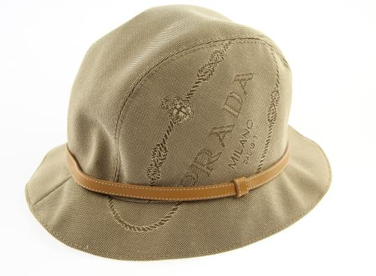Preload https://img-static.tradesy.com/item/21591269/prada-beige-logo-bucket-hat-0-2-540-540.jpg
