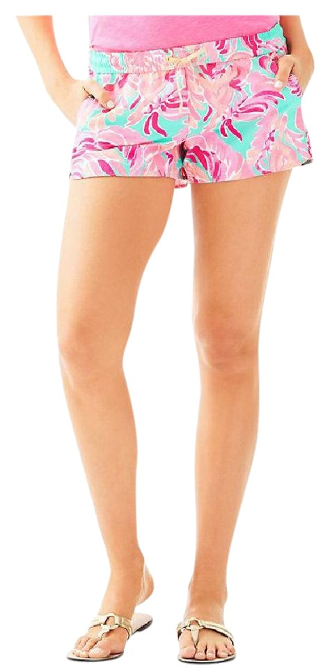 9ac45d8acf1117 Lilly Pulitzer Tags Included Luxletic Poolside Blue Run Around Shorts