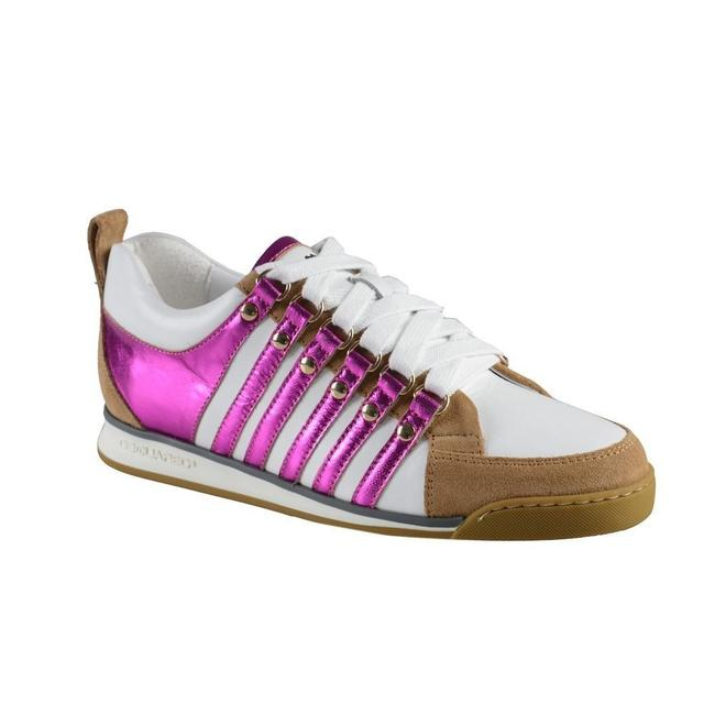 Item - Multi-color Suede Leather Fashion Sneakers Size US 6 Regular (M, B)