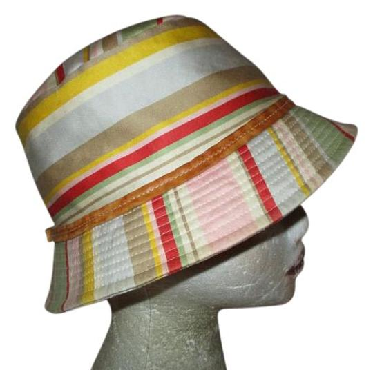 Preload https://img-static.tradesy.com/item/21591445/coach-multicolor-leather-trim-striped-bucket-hat-0-1-540-540.jpg
