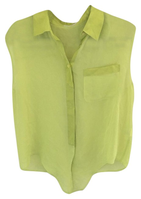 Preload https://img-static.tradesy.com/item/21591469/equipment-neon-yellow-tank-blouse-size-8-m-0-1-650-650.jpg