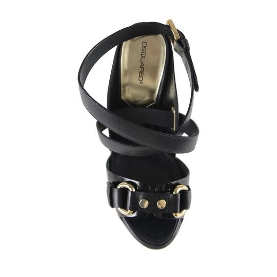DSquared Black Platforms