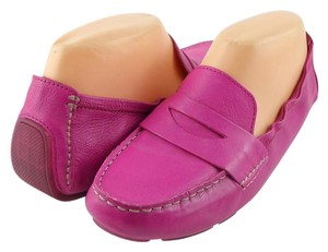 Cole Haan Pink Driving Moccasins Loafer Orchid Pink Flats