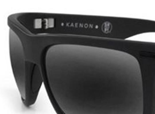 Kaenon Kaenon Sunglasses Burnet Black Label Polarized G12 Black Mirror