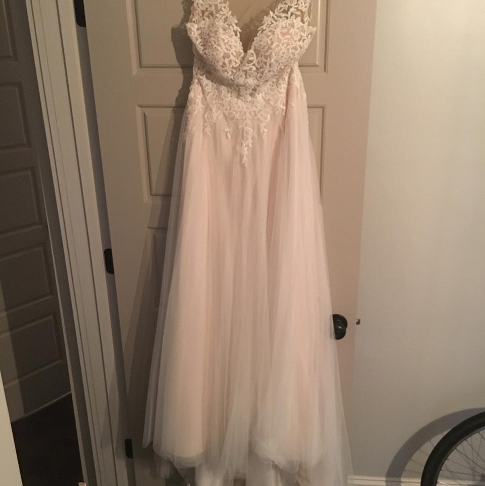 Stella York Ivory French Tulle And Lace Essence Of