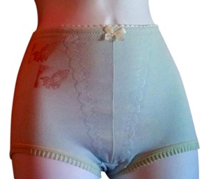 Other Burlesque Mini Dance Theater Diva Hot Pant Sexy Stage Stage Wear Rose Mini/Short Shorts Baby Blue Stretch Cotton