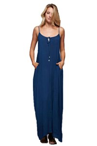 navy Maxi Dress by Love Stitch