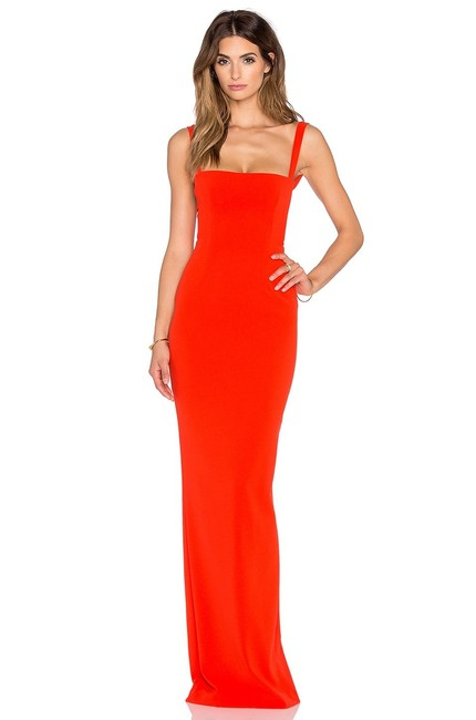 Item - Red Maxi Long Night Out Dress Size 4 (S)