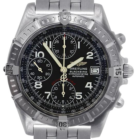 Preload https://img-static.tradesy.com/item/21592137/breitling-white-black-a13353-blackbird-stainless-steel-chronograph-watch-0-1-540-540.jpg