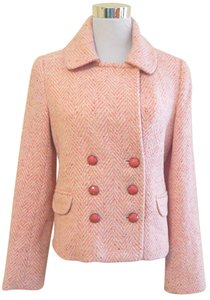 Mint Tweed Wool Pea Coat