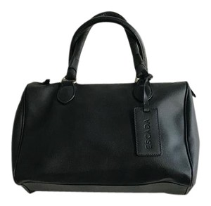 Escada Purse Leather Designer Satchel in Black