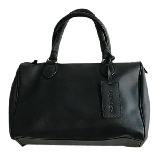 Preload https://img-static.tradesy.com/item/21592161/escada-black-leather-satchel-0-3-540-540.jpg