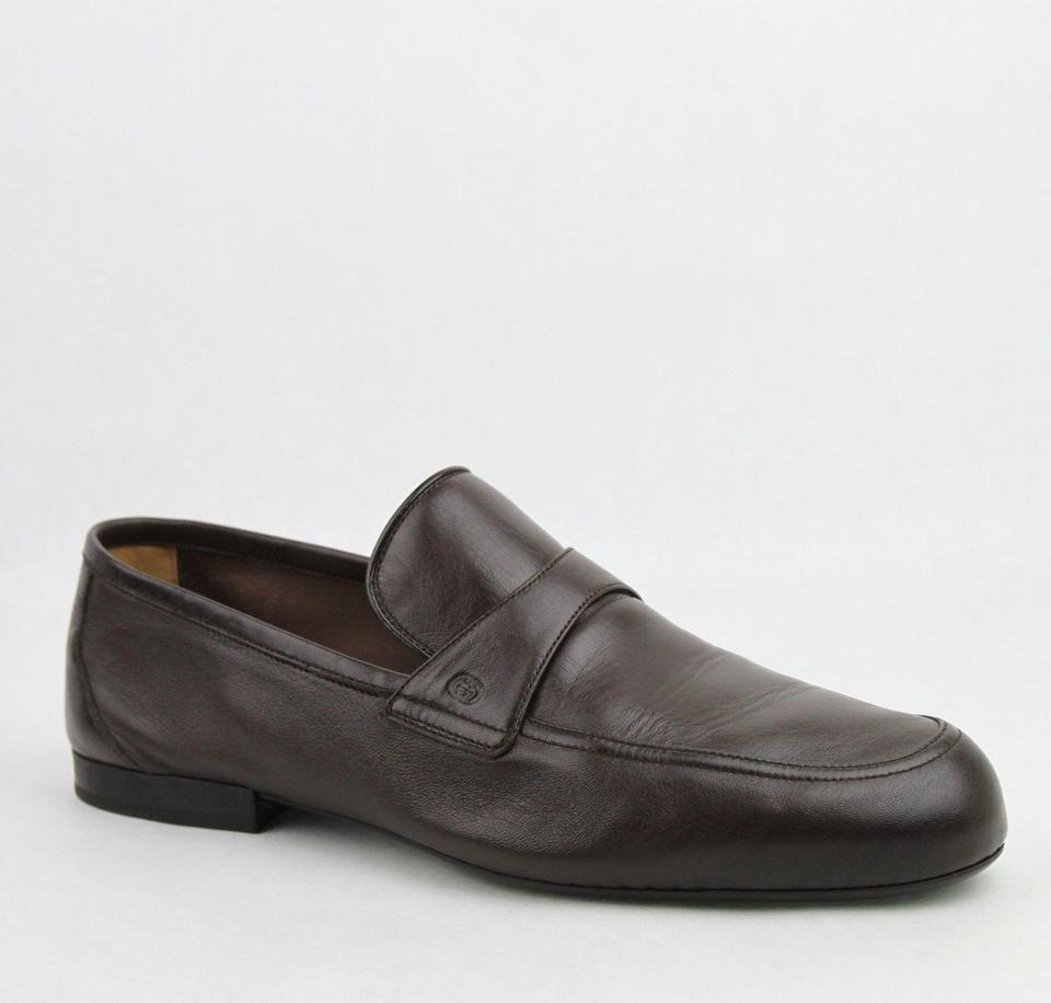 7d272704ff4 Gucci Brown Men s Soft Leather Cocoa Loafer 5.5   Us 6.5 368468 2140 Shoes