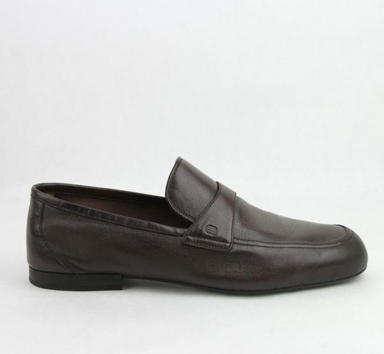 Gucci Brown Men's Soft Leather Cocoa Loafer 5.5 / Us 6.5 368468 2140 Shoes