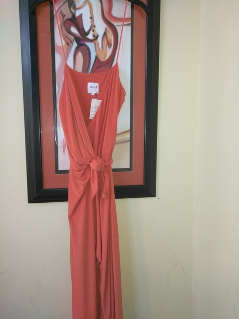 Preload https://img-static.tradesy.com/item/21592197/misa-los-angeles-orangey-coral-fabulous-wrap-strappy-long-night-out-dress-size-14-l-0-0-650-650.jpg