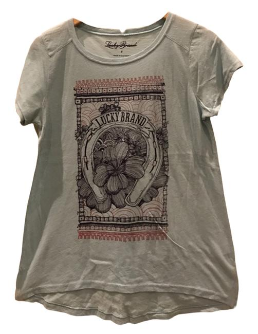 Lucky Brand T Graphic T Shirt MultiColor