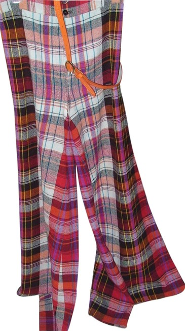 Preload https://item4.tradesy.com/images/red-plaid-amazing-vintage-find-elephant-bell-wool-look-super-flared-pants-size-10-m-31-2159228-0-0.jpg?width=400&height=650