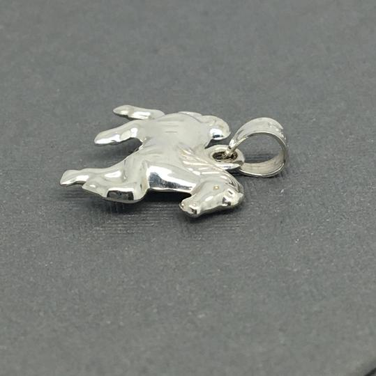 Other 14K White Gold 3D Horse Pendant