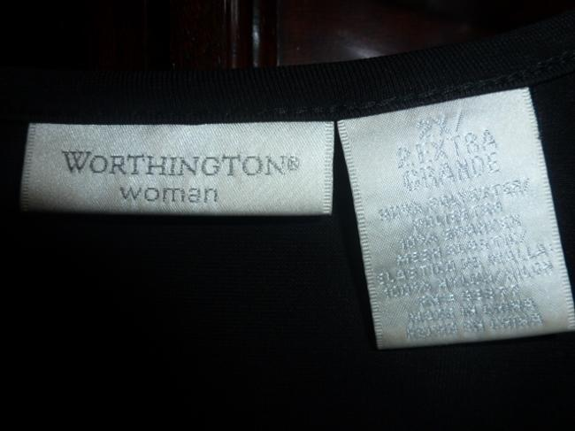 Worthington Top Black Sequin