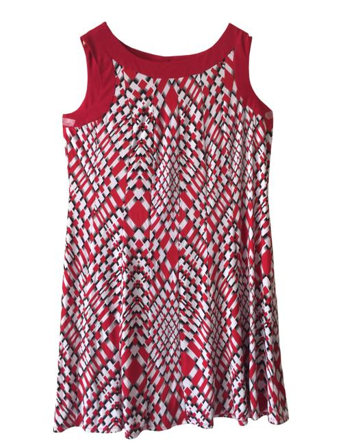 Preload https://img-static.tradesy.com/item/21592380/dress-barn-multicolored-women-s-red-fit-and-flare-tank-short-casual-dress-size-16-xl-plus-0x-0-0-650-650.jpg