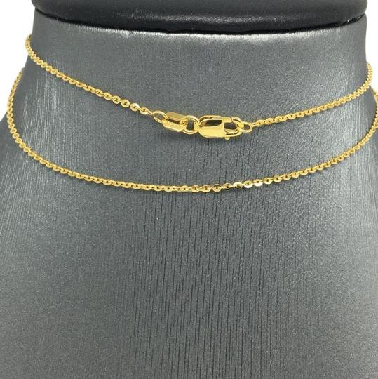 Preload https://img-static.tradesy.com/item/21592386/14k-yellow-gold-diamond-cut-cable-chain-130mm-16-inches-necklace-0-1-540-540.jpg