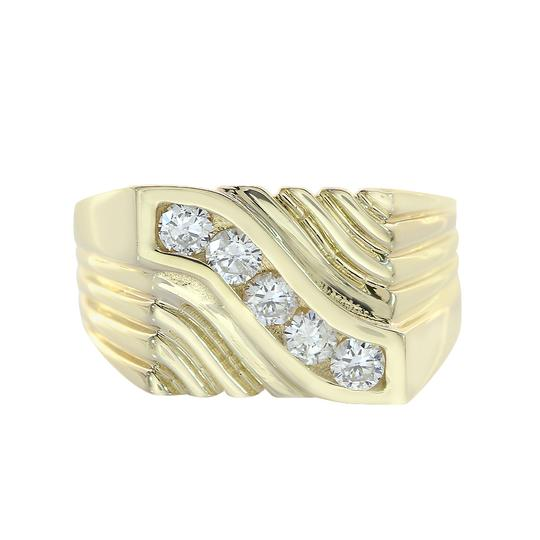 Preload https://img-static.tradesy.com/item/21592434/avital-and-co-jewelry-14k-yellow-gold-065-carat-round-cut-diamonds-men-s-ring-0-0-540-540.jpg