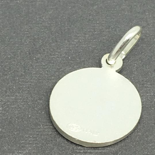 Other 925 Sterling Silver Small Round Angel Pendant