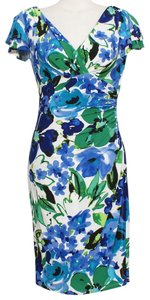Lauren Ralph Lauren short dress White Blue on Tradesy