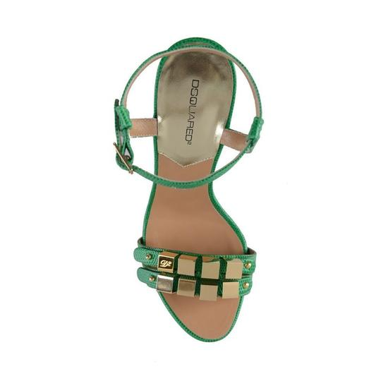 DSquared Green Sandals