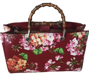 Gucci Satchel in Red floral