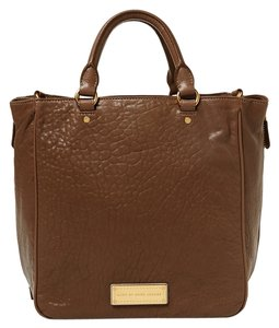 Marc Jacobs Pebbled Leather Gold Hardware Shoulder Bag
