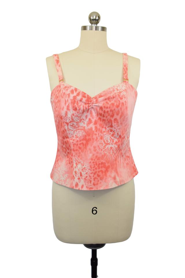 546278140619d St. John Coral By Marie Gray Tank Top Cami Size 8 (M) - Tradesy