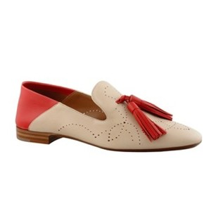 Fratelli Rossetti red & creme Flats