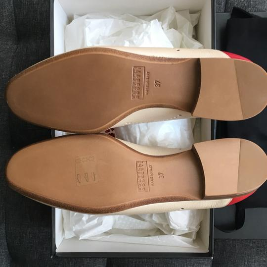 Fratelli Rossetti red & creme Flats Image 5