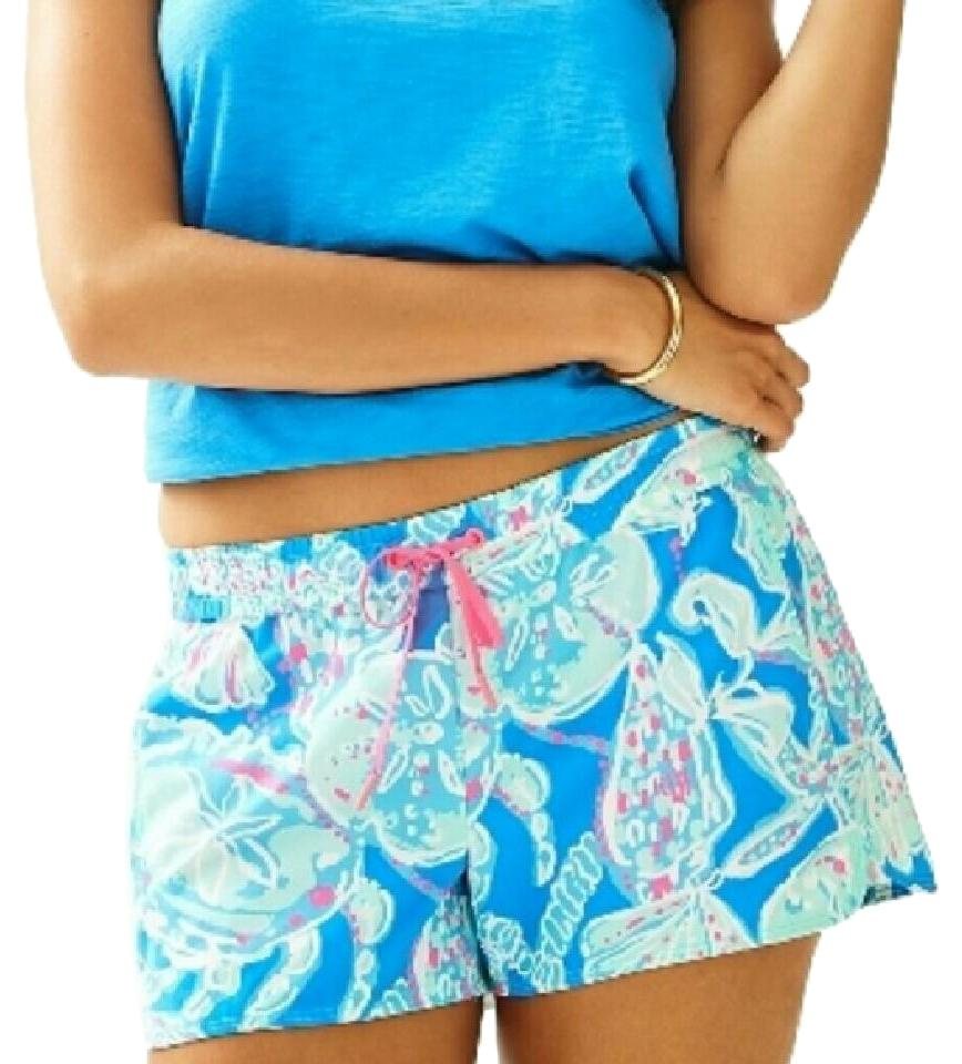 d37a80171d2179 Lilly Pulitzer Into The Blue Luxletic Run Around with Tags Shorts ...