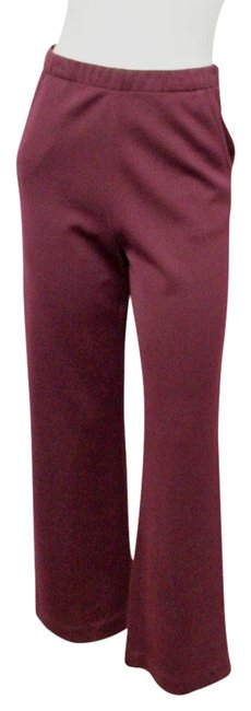 Item - Burgundy Milano Plum Bootleg Stretch High Waist Pants Size 2 (XS, 26)