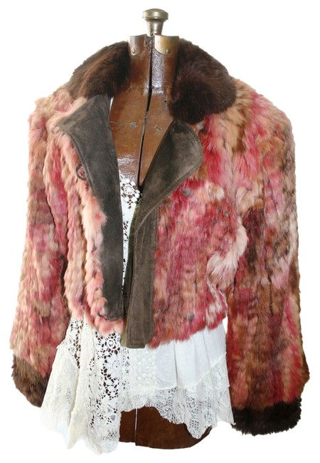 Preload https://img-static.tradesy.com/item/2159414/pinks-and-browns-knitted-rex-rabbit-fur-jacket-size-10-m-0-0-650-650.jpg