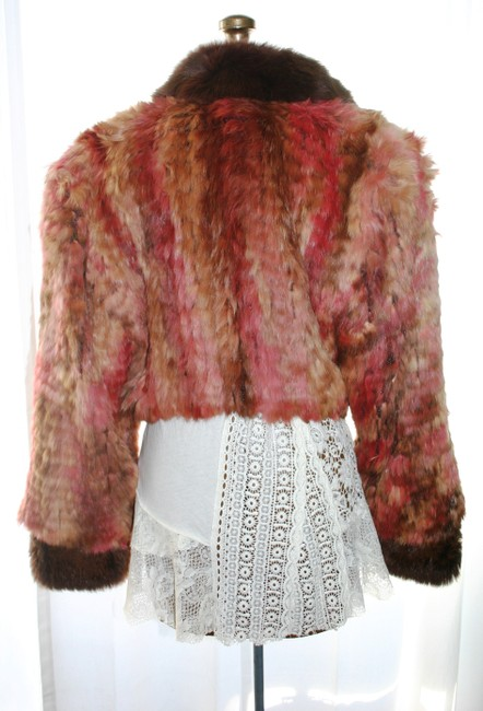 Marilyn Blumer Pinks and Browns Jacket Image 1