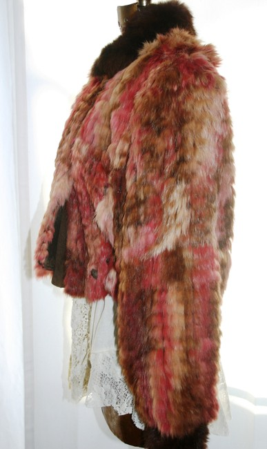 Marilyn Blumer Pinks and Browns Jacket Image 3