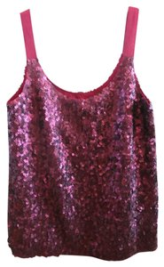 Theory Sizep Fully Lined Top Ruby