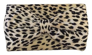 Betsey Johnson White / Black Clutch
