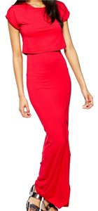 Red Maxi Dress by ASOS
