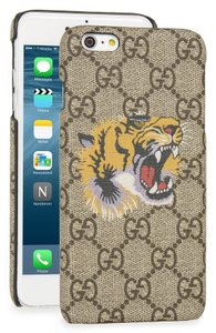 Gucci 'Bestiary Tiger' GG Logo iPhone 6+ Plus Case
