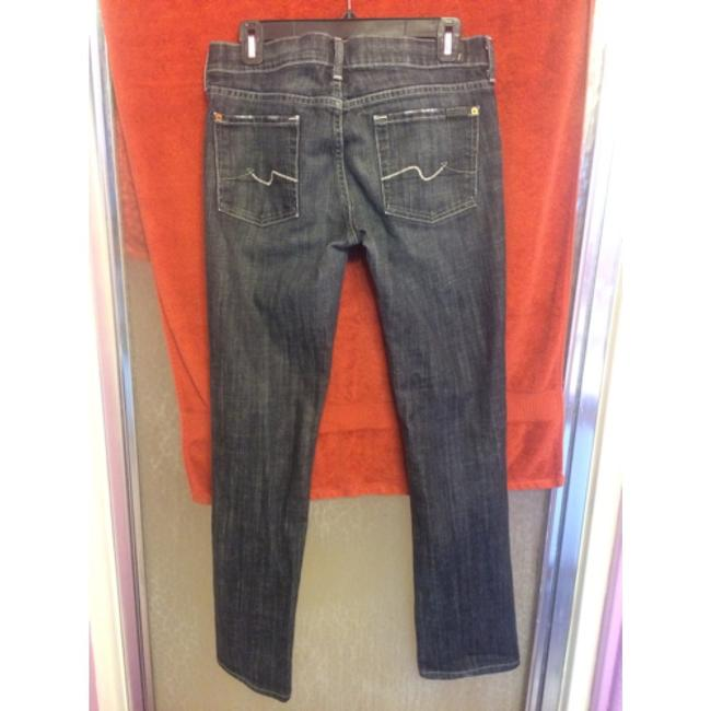 Seven All For Mankind Straight Leg Jeans-Light Wash