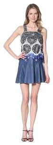 Thakoon Addition short dress Blue on Tradesy