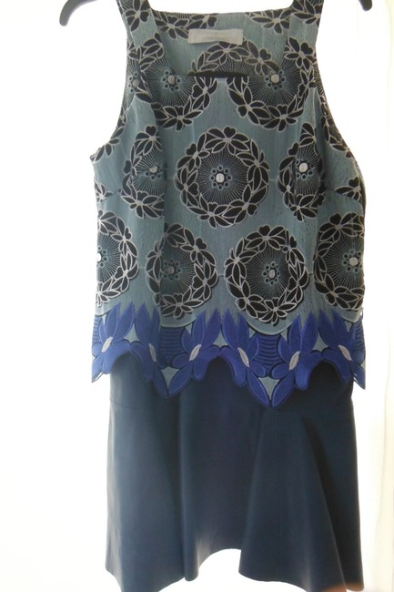 Thakoon Addition short dress Blue on Tradesy Image 1