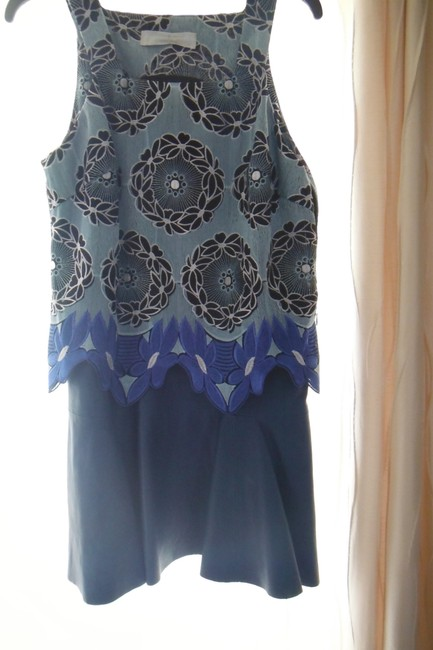 Thakoon Addition short dress Blue on Tradesy Image 4