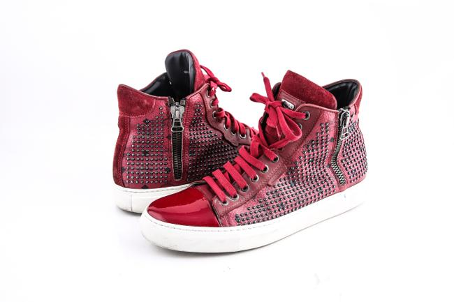 Item - Red * Celebrity Spike Sneakers Shoes
